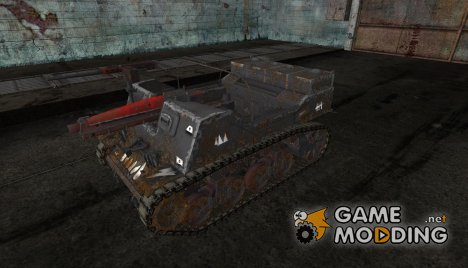 шкурка для T82 от BLooMeaT для World of Tanks