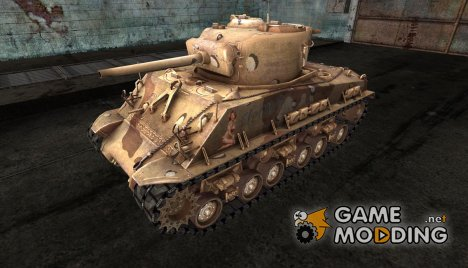 M4A3E8 Sherman harley19 для World of Tanks