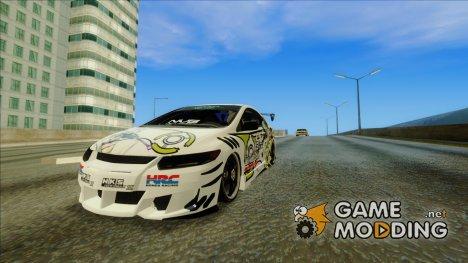 Honda Civic SI - SAO Itasha for GTA San Andreas