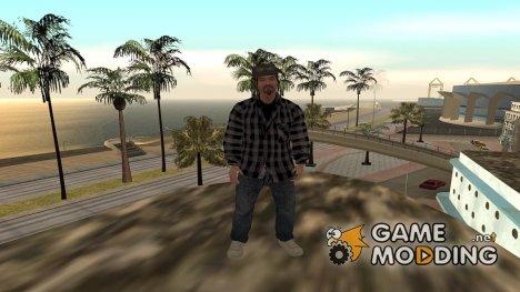 Скины работников СМИ в HD (By Luntik) для GTA San Andreas