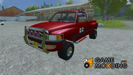Dodge Ram 2500 4x4 Mobile Tank for Farming Simulator 2013
