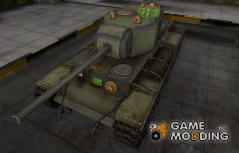 Зона пробития КВ-3 for World of Tanks