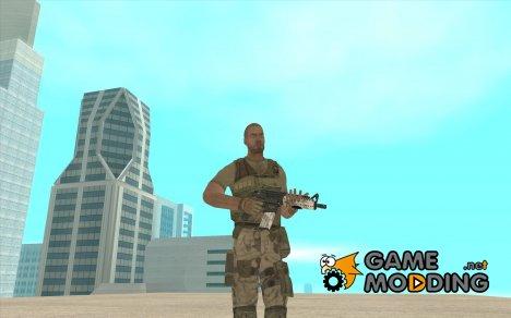 M4 без приклада for GTA San Andreas