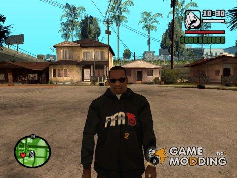 Толстовка с логотипом FIFA 15 для GTA San Andreas