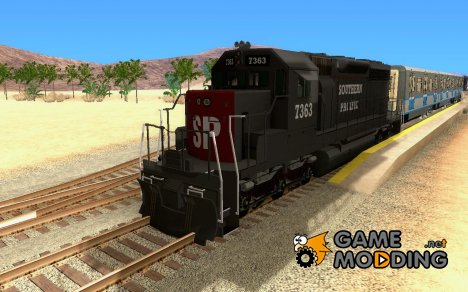 Southern Pacific SD 40 для GTA San Andreas