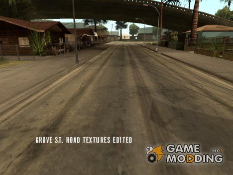Grove St. Textures Edited for GTA San Andreas