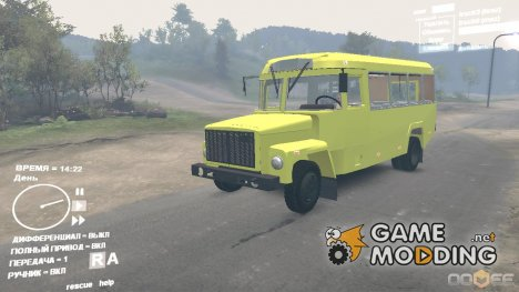 КАвЗ 3976 для Spintires DEMO 2013