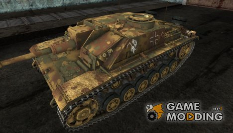 Шкурка для StuG III for World of Tanks