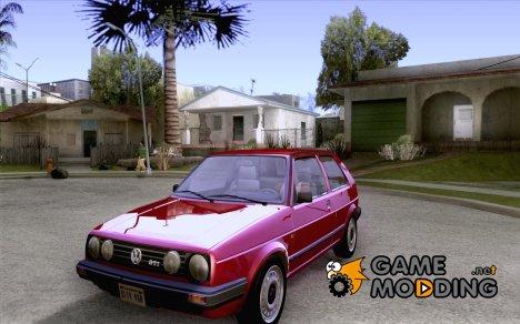 Volkswagen Golf Mk.II for GTA San Andreas