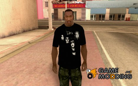 KIϟϟ T-shirt for GTA San Andreas