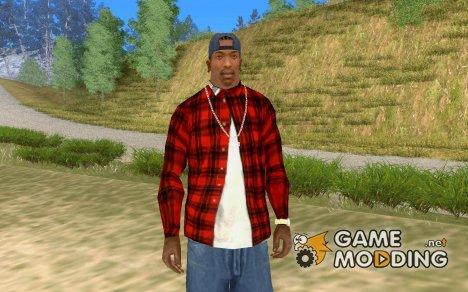 Рубашка с Сидом Вишесом for GTA San Andreas