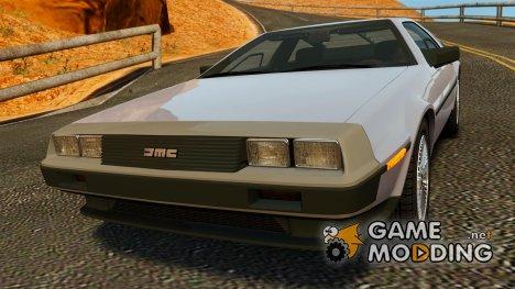DeLorean DMC-12 1982 для GTA 4