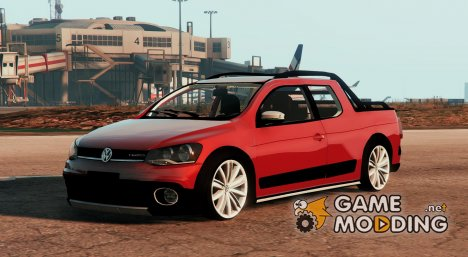 Volkswagen Saveiro G6 Cross Cab. Dupla for GTA 5