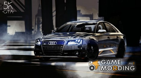 2013 Audi S8 4.0 TFSI Quattro v1.7 for GTA 5