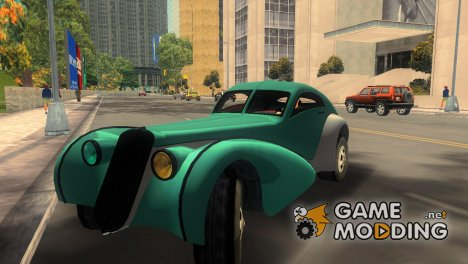 GTA V Z-Type for GTA 3