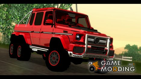 BRABUS 700 - Mercedes-Benz G63 AMG 6x6 for GTA San Andreas