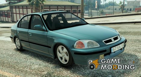 Honda Civic 97 EA Edition for GTA 5