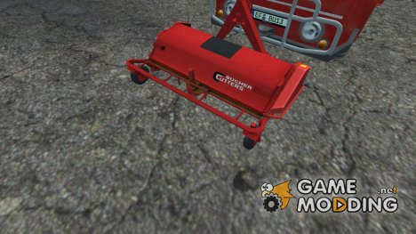 Frontmower Bucher for Farming Simulator 2013