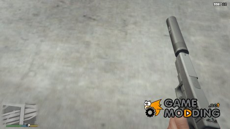 Glock 17 with silencer for GTA 5