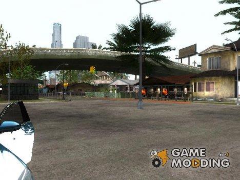 Улучшенный Grove Street и Вокзал LS для GTA San Andreas