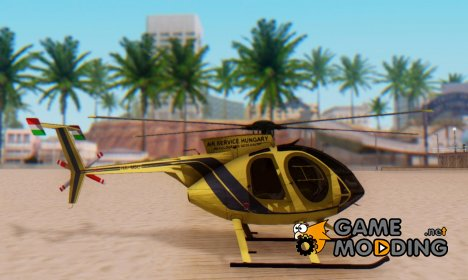 Helicopter MD500E PJ2 for GTA San Andreas