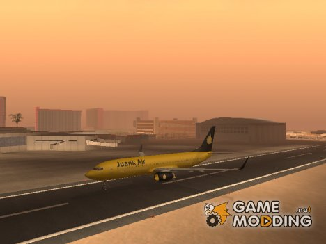 Boeing 737-800 Juank Air for GTA San Andreas