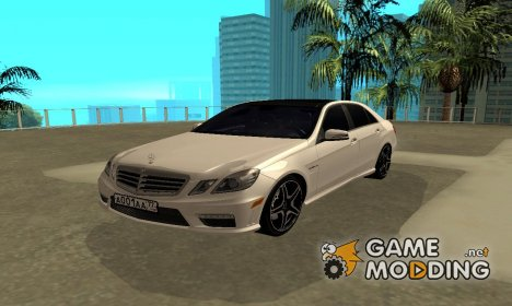 Mercedes-Benz E63 AMG 2010 for GTA San Andreas