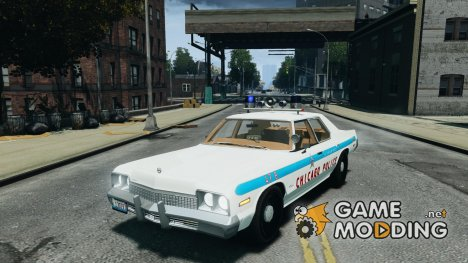 Dodge Monaco 1974 Police v1.0 for GTA 4