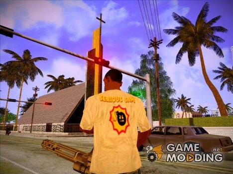 Майка Крутого Сэма для GTA San Andreas