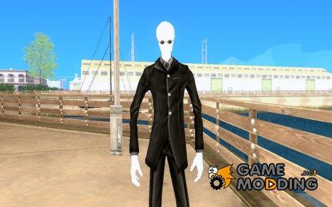 Слендер в темных очках for GTA San Andreas