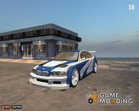 BMW M3 E46 GTR для Mafia: The City of Lost Heaven