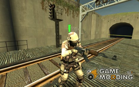Desert Combat Force для Counter-Strike Source