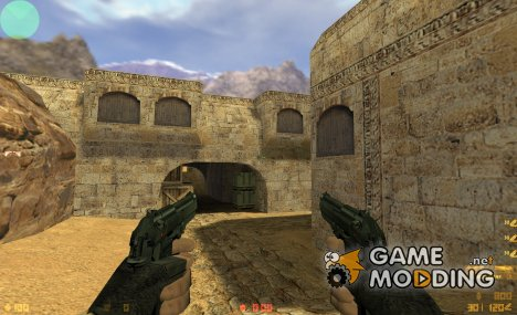 Dual Beretta 92 FS on Jennifer's anims for Counter-Strike 1.6