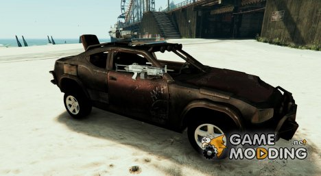 Dodge Charger Apocalypse Police (2 door) [Templated | Unlocked] for GTA 5