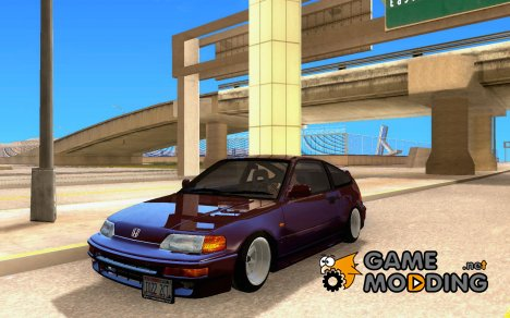 Honda CRX Hella Flush for GTA San Andreas
