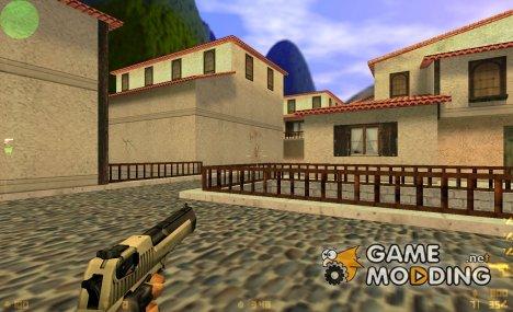 Black/Silver DE для Counter-Strike 1.6