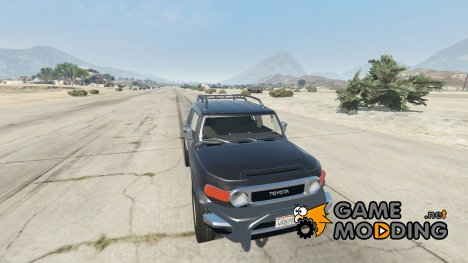 Toyota FJ Cruiser for GTA 5
