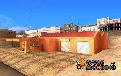 Новый Гараж в Дороти for GTA San Andreas