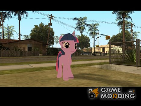 Twilight Sparkle (My Little Pony) для GTA San Andreas