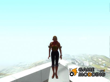 Juliet Starling's из Lollipop Chainsaw v.7 для GTA San Andreas