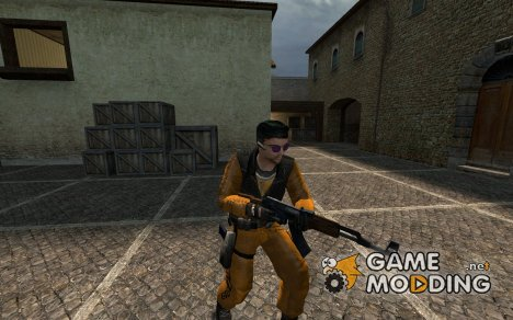 Escaped Prisoner L33T Skin для Counter-Strike Source