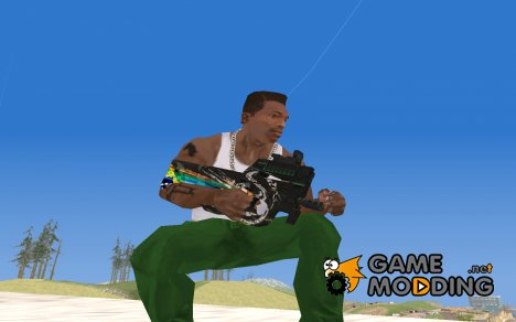 P90 from PointBlank для GTA San Andreas
