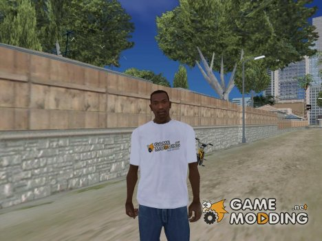 Фирменная футболка Gamemodding.net v2 for GTA San Andreas