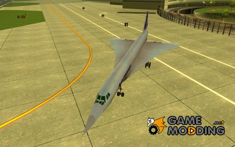 Concorde Air France for GTA San Andreas