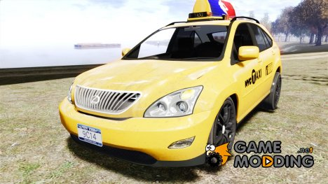Lexus RX400 New York Taxi for GTA 4
