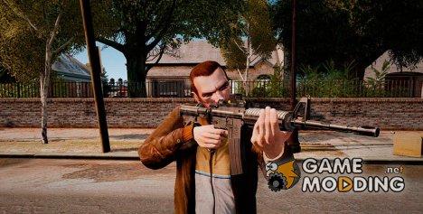 Автоматический карабин M4A1 Tactical for GTA 4