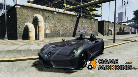 Mercedes-Benz SLR McLaren Stirling Moss для GTA 4