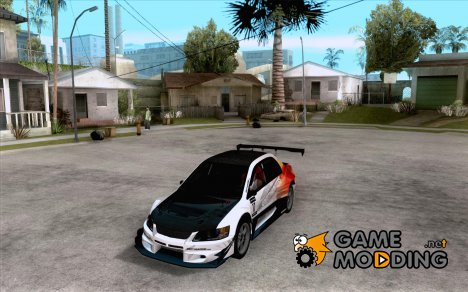 Mitsubishi Lancer Evo IX SpeedHunters Edition for GTA San Andreas