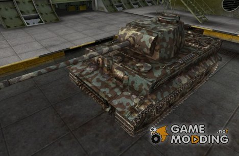 Шкурка для PzKpfw VI Tiger for World of Tanks