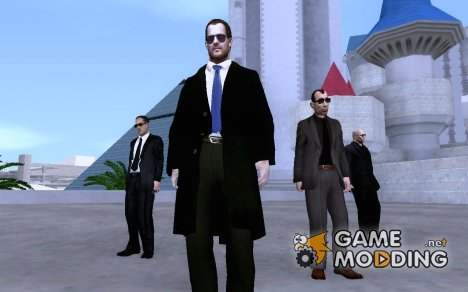 Bodyguards Skins Pack для GTA San Andreas